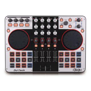 2-DJ TECH 4-MIX
