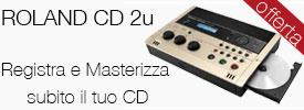 roland cd2u registratore digitale offerta