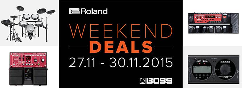 Promozione Black Friday Roland