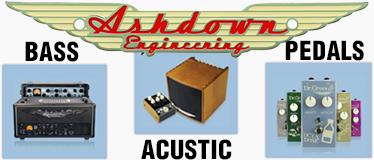 Ashdown Amplificatori e pedali
